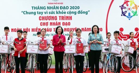Chợ nhân đạo và Ngày hội Hiến máu tình nguyện năm 2020: Lan tỏa những giá trị nhân ái tốt đẹp