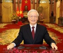 Tổng Bí thư, Chủ tịch nước Nguyễn Phú Trọng biểu dương lực lượng phòng chống thiên tai