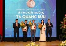 Trao Giải thưởng Tạ Quang Bửu năm 2020 và tôn vinh các tổ chức, cá nhân tiêu biểu