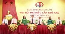 Khai mạc phiên trù bị Đại hội Đại biểu Đảng bộ huyện Gia Lâm lần thứ XXII, nhiệm kỳ 2020 - 2025