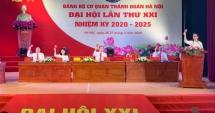 Khai mạc phiên thứ nhất Đại hội Đảng bộ cơ quan Thành đoàn lần thứ XXI