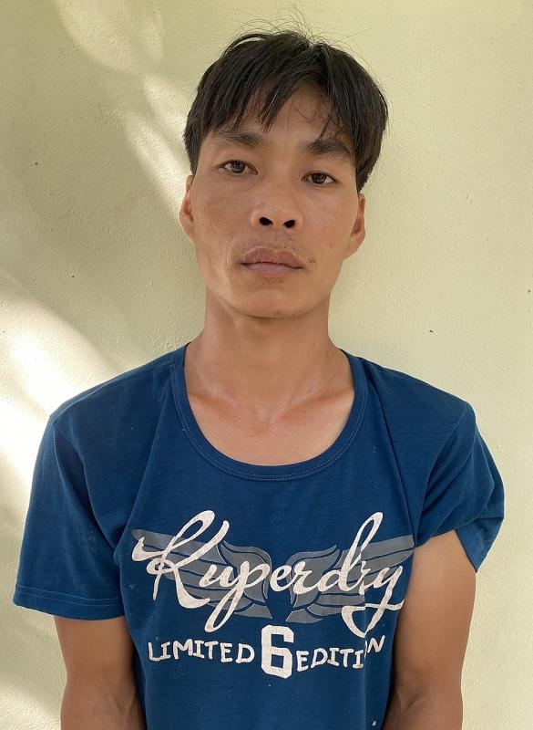 Nguyễn Văn Hùng tại cơ quan công an