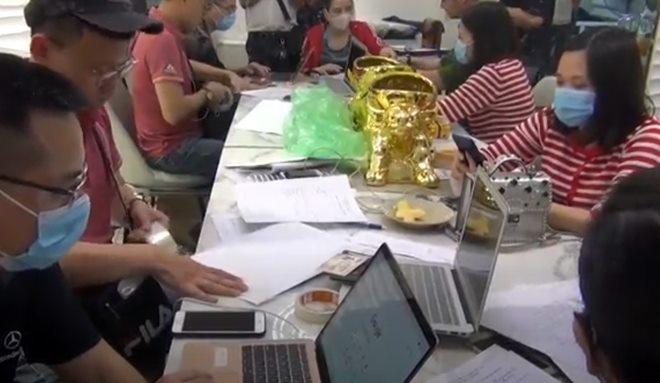 Triệt phá ổ nhóm điều hành 4 sàn giao dịch vàng, tiền ảo