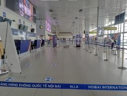 Cảng hàng không Quốc tế Nội Bài tạm thời điều chỉnh phương án khai thác vận chuyển hành khách