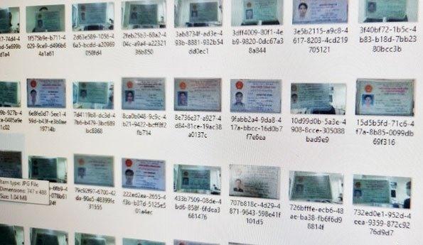 Bộ Công an điều tra thông tin hàng ngàn chứng minh nhân dân bị rao bán trên internet