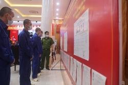 """Cán bộ, chiến sĩ Công an TP Hà Nội và """"những lá phiếu đặc biệt"""""""