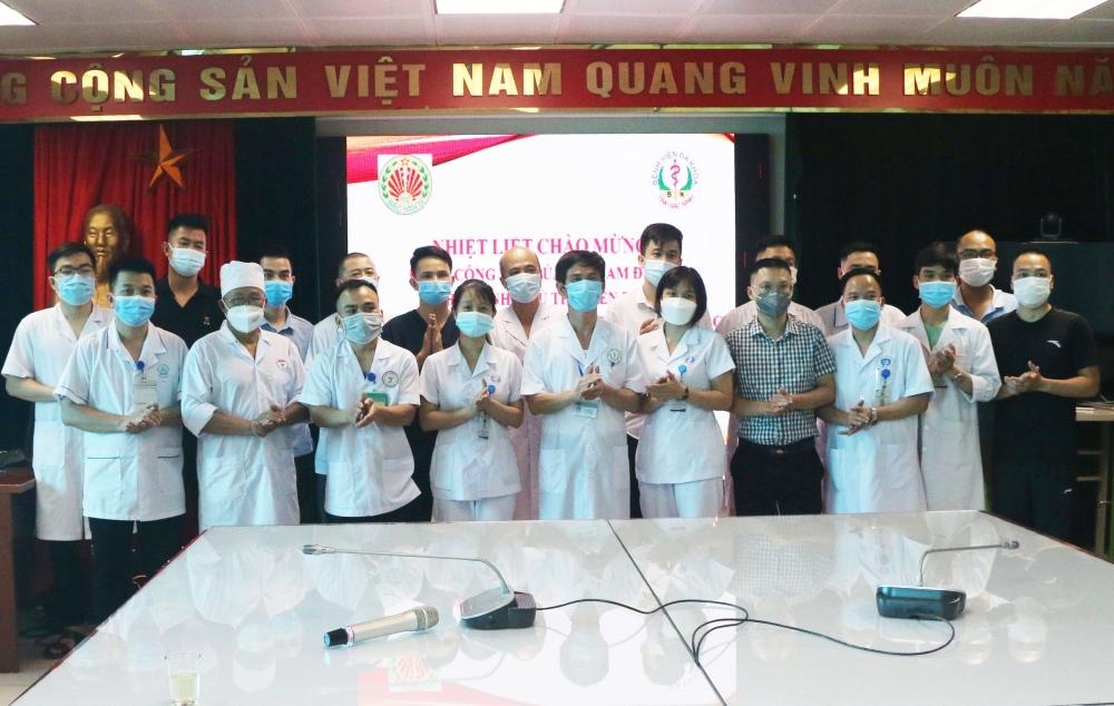 Hơn 20 bác sĩ, điều dưỡng của 4 tỉnh tình nguyện tham gia phòng, chống dịch tại Bắc Ninh