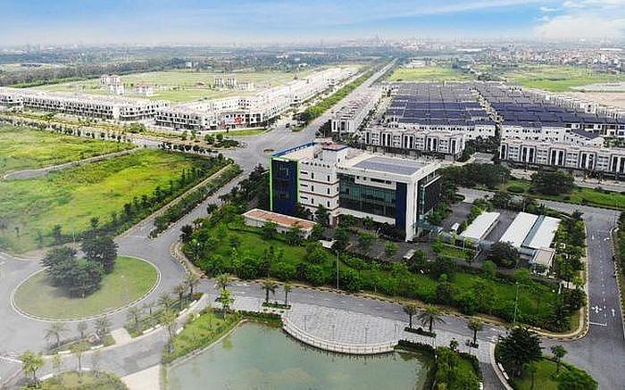 Khu công nghiệp trên địa bàn tỉnh Bắc Ninh (ảnh ITN)