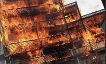 Cháy chung cư ở London, 100 lính cứu hỏa được huy động