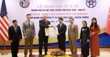Đại sứ Hoa Kỳ cảm ơn thành phố Hà Nội hỗ trợ vật tư y tế chống dịch Covid-19