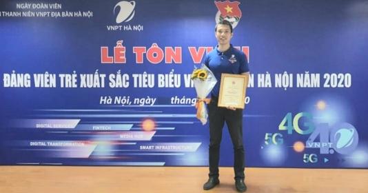 Đảng viên trẻ xuất sắc tiêu biểu của VNPT Hà Nội