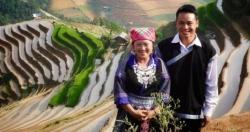 Chàng trai dân tộc Mông vượt khó làm giàu trên quê hương