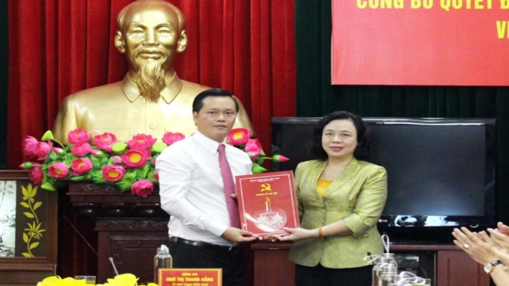 Giám đốc Sở Du lịch Hà Nội Trần Đức Hải làm Bí thư Huyện ủy Đan Phượng