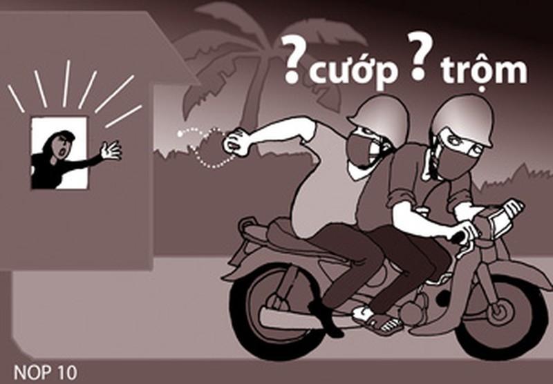 Bắt khẩn cấp hai tên cướp trẻ tuổi