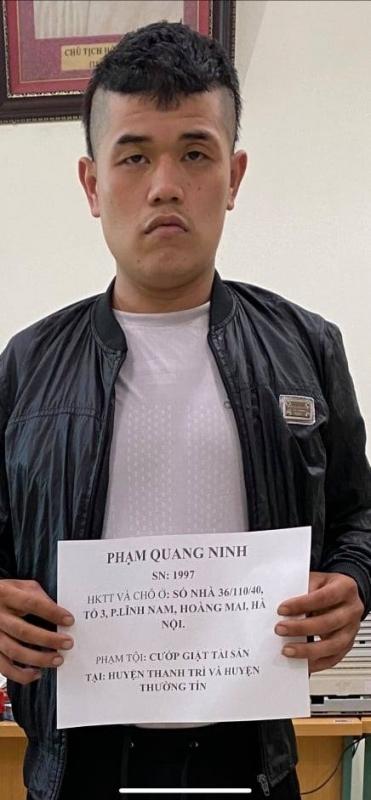 Bắt tên cướp trẻ gây ra nhiều vụ án  trên đê Thanh Trì