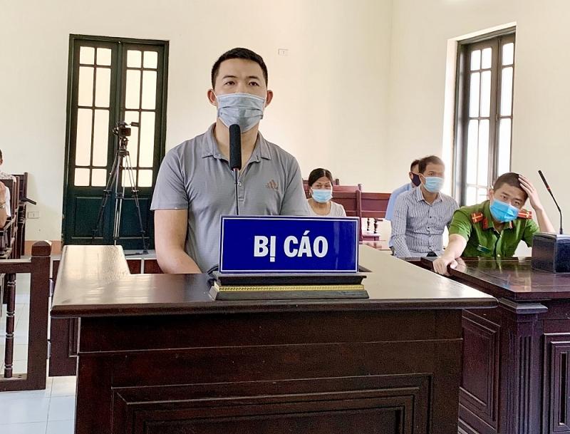 Bị cáo Thỏa bị kết án 24 tháng tù giam vì chống người thi hành tại chốt kiểm dịch Bắc Ninh