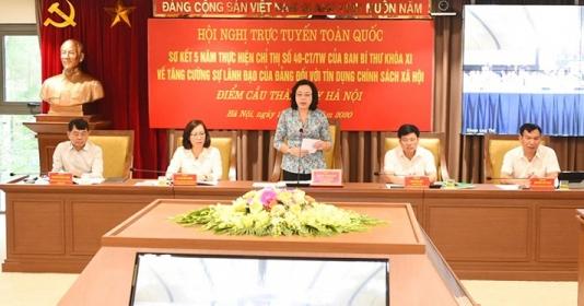 Hà Nội: Tín dụng chính sách xã hội giúp trên 193.000 hộ thoát nghèo