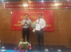 Sở Giao thông Vận tải Lạng Sơn có tân giám đốc