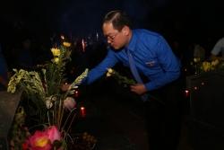 Những ngọn nến - những tấm lòng biết ơn của tuổi trẻ Hà Nội