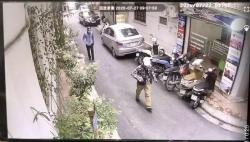 Công an Hà Nội công bố hình ảnh đầu tiên về 2 đối tượng dùng súng tự chế cướp ngân hàng