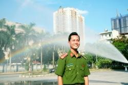 Trung úy Nguyễn Hoàng Thao - Công an xã chính quy tiêu biểu