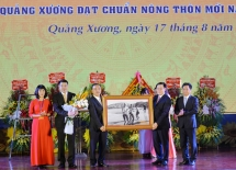 Quảng Xương chính thức thành huyện nông thôn mới của xứ Thanh