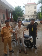trom mo to o ha noi den bac giang bi tom gon