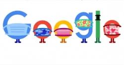 Google truyền đi thông điệp đeo khẩu trang để phòng chống COVID-19