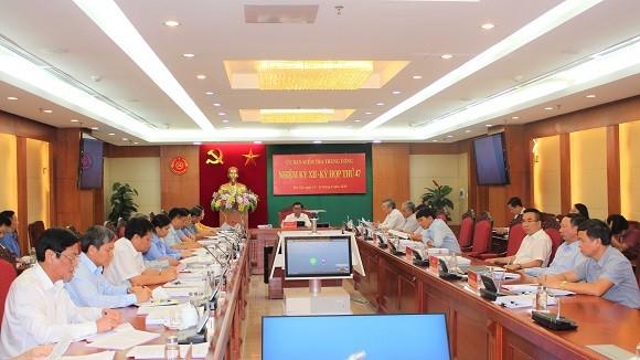 Ủy ban Kiểm tra Trung ương kỷ luật 2 Trung tướng, 6 Đại tá quân đội