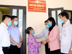 MTTQ Việt Nam TP Hà Nội bàn giao Nhà đại đoàn kết tại huyện Ứng Hòa