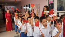 """Hơn 1.000 học sinh Trường TH-THCS Pascal khai giảng """"nhờ"""""""