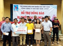 PV GAS tổ chức nhiều chương trình an sinh xã hộinhân kỷ niệm 29 năm thành lập