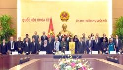 Phó Chủ tịch Thường trực Quốc hội tiếp Đại sứ các nước dự Đại hội đồng AIPA 41