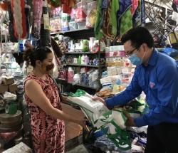 Mô hình thí điểm chợ dân sinh giảm rác thải nhựa của Đoàn