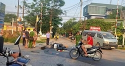 Công an Hà Nội truy tìm tài xế xe đầu kéo gây tai nạn khiến 2 người thương vong rồi bỏ chạy