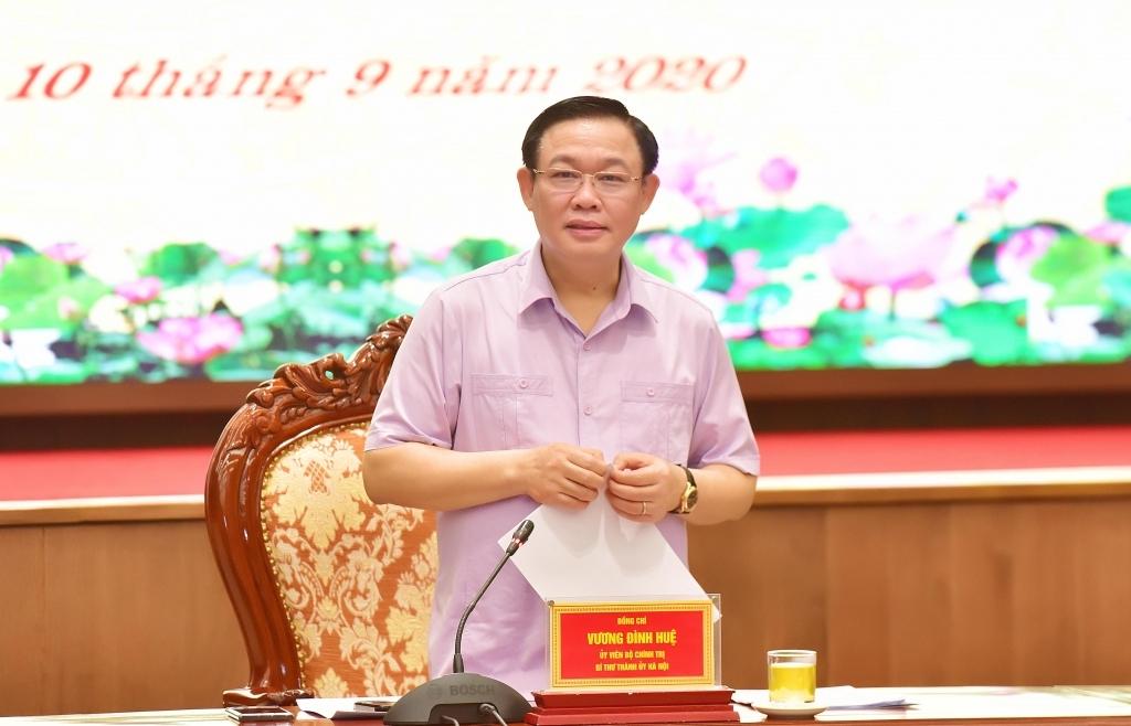 Hà Nội thực hiện quyết liệt các giải pháp, kiên quyết giải ngân hết vốn đầu tư công