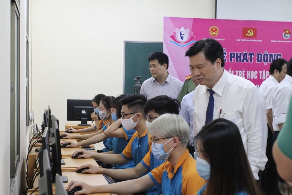 """Khởi động cuộc thi trực tuyến """"Tuổi trẻ học tập và làm theo tư tưởng, đạo đức, phong cách Hồ Chí Minh"""" năm 2020"""