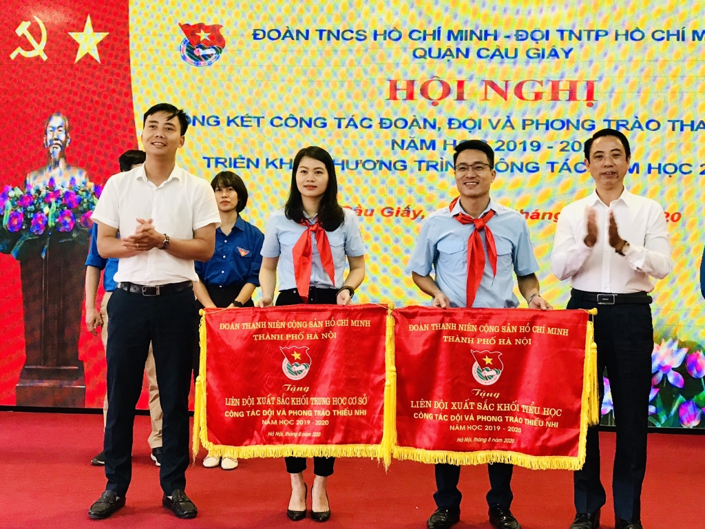 Phó Bí thư Thành đoàn Hà Nội Nguyễn Đức Tiến