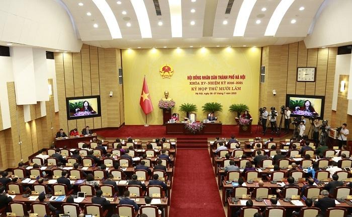 HĐND thành phố Hà Nội tổ chức kỳ họp để thực hiện công tác nhân sự
