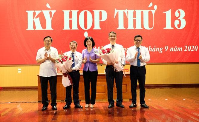 Ông Hoàng Anh Tuấn được bầu giữ chức Chủ tịch UBND huyện Mê Linh