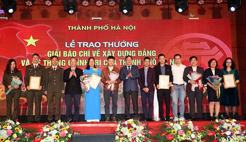 Ngày 29/9, trao thưởng 2 giải báo chí của TP Hà Nội lần thứ III