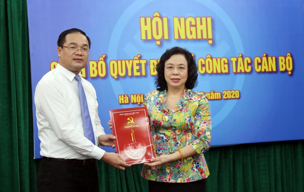 Đồng chí Nguyễn Ngọc Việt được bổ nhiệm làm Bí thư Huyện ủy Mỹ Đức