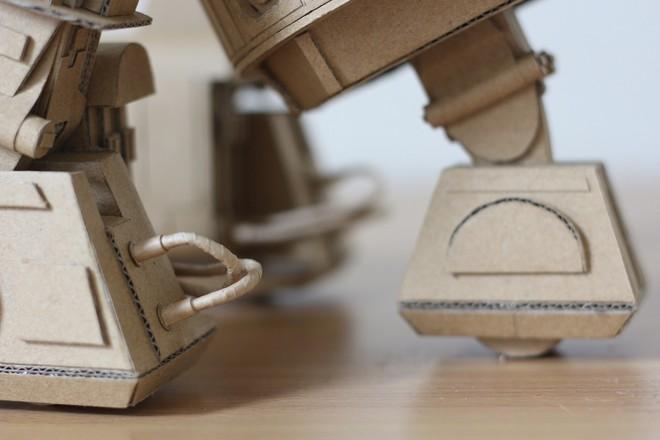 Chàng trai làm mô hình từ thùng giấy carton 'gây sốt' cộng đồng mạng - ảnh 2