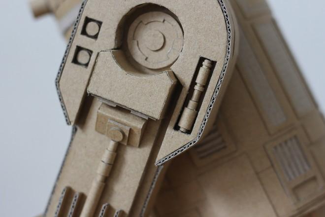 Chàng trai làm mô hình từ thùng giấy carton 'gây sốt' cộng đồng mạng - ảnh 3