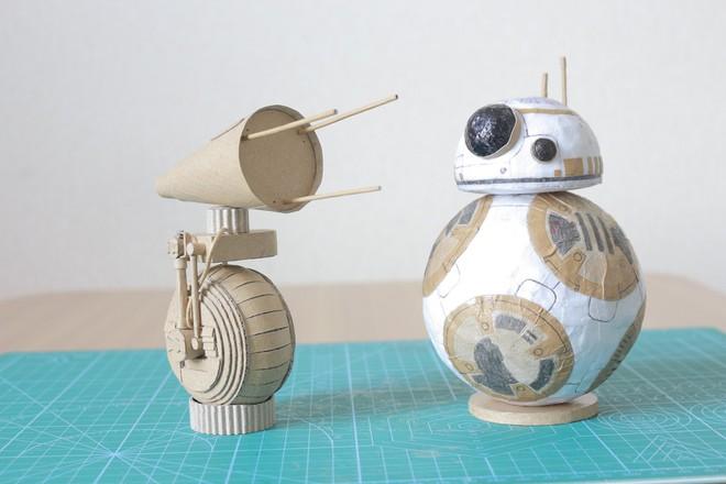 Chàng trai làm mô hình từ thùng giấy carton 'gây sốt' cộng đồng mạng - ảnh 8