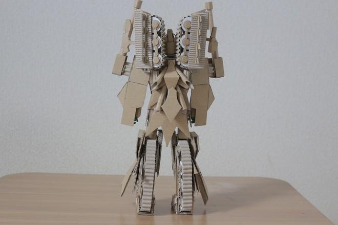 Chàng trai làm mô hình từ thùng giấy carton 'gây sốt' cộng đồng mạng - ảnh 12