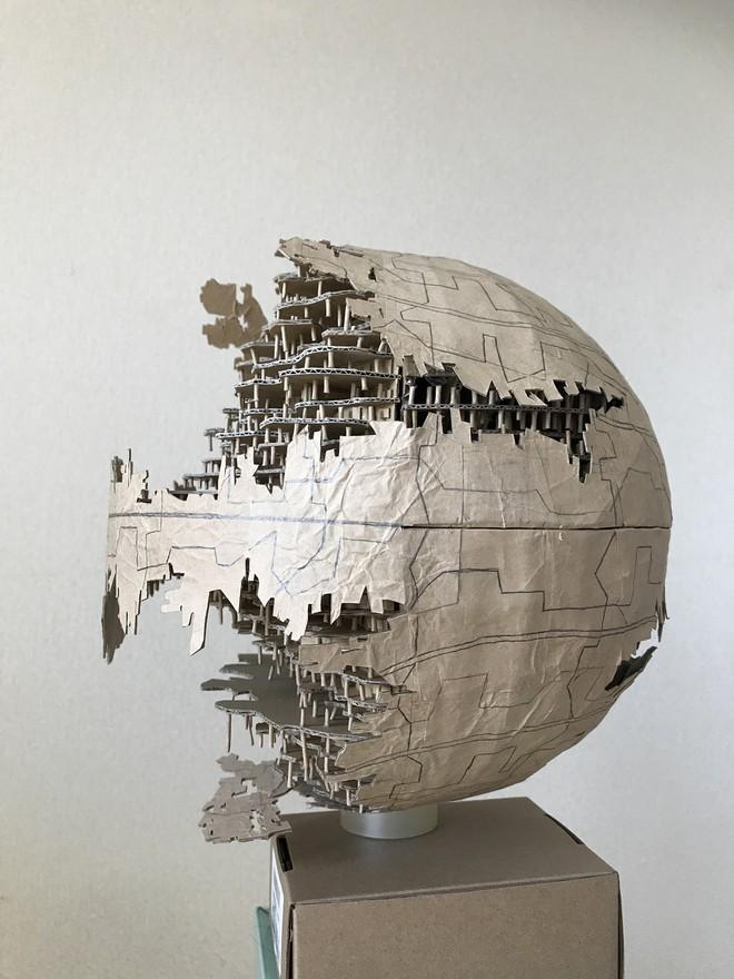 Chàng trai làm mô hình từ thùng giấy carton 'gây sốt' cộng đồng mạng - ảnh 13