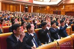 Lạng Sơn tổ chức Đại hội Đại biểu Đảng bộ tỉnh lần thứ XVII