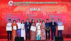 Báo Tuổi trẻ Thủ đô nhận 2 giải C Giải báo chí về xây dựng Đảng và phát triển văn hóa Hà Nội