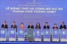 thu tuong nguyen xuan phuc du le dong tho va cong bo du an thanh pho thong minh
